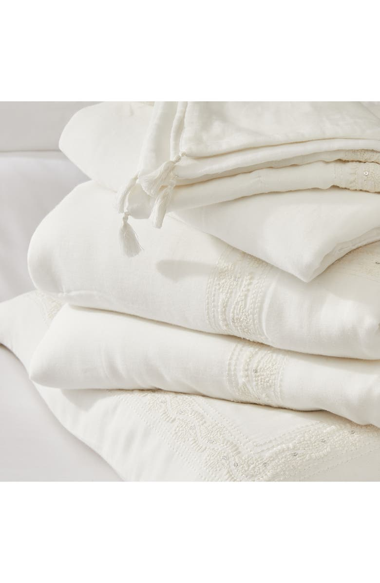THE WHITE COMPANY Sienna Quilt, Main, color, WHITE
