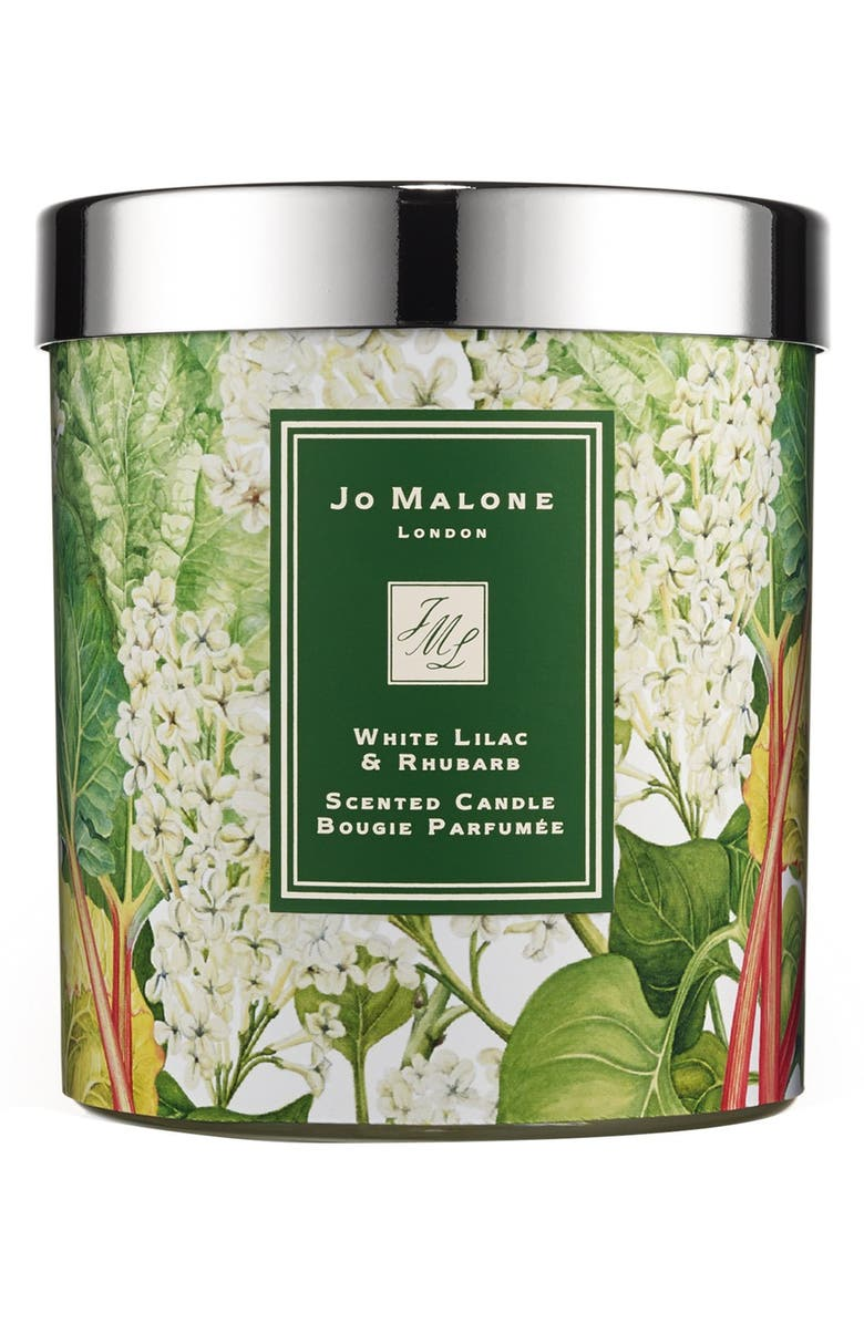 JO MALONE LONDON<SUP>™</SUP> Jo Malone<sup>™</sup> 'White Lilac & Rhubarb' Candle, Main, color, 000