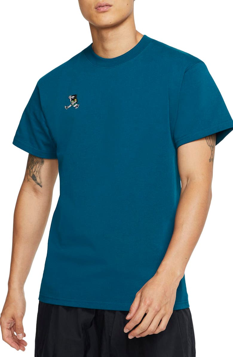 NIKE Sportswear All Conditions Gear Outdoor T-Shirt, Main, color, VALERIAN BLUE/ BLACK