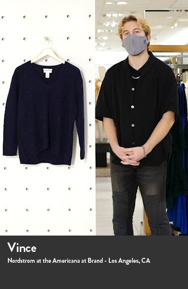 Chevron Knit Cashmere Sweater, sales video thumbnail
