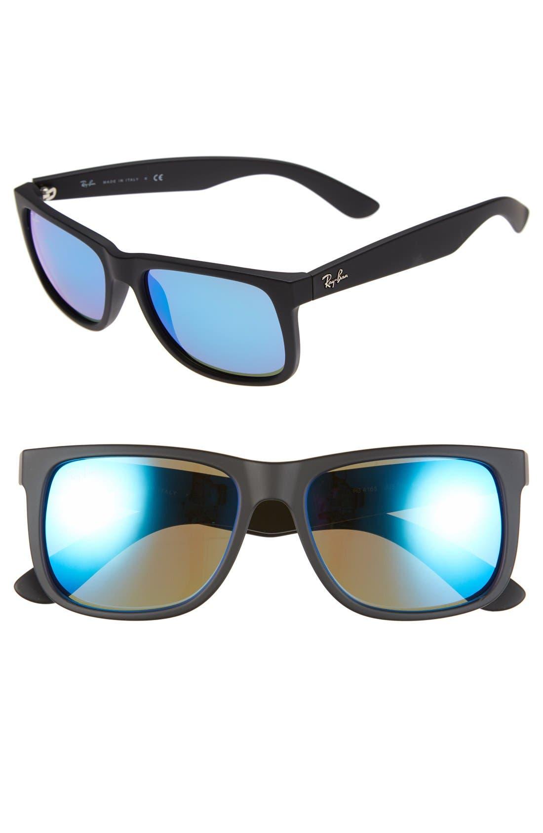 Ray-Ban 5m Sunglasses - Black/ Green Mirror Blue