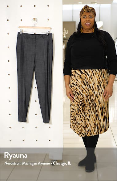 Clinton Cuffed Wool Blend Pants, sales video thumbnail