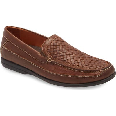 Johnston & Murphy Locklin Loafer, Brown