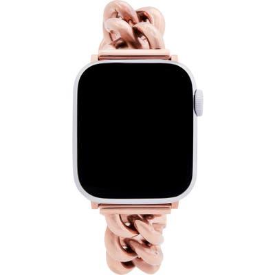 Rebecca Minkoff Curb Link Apple Watch Bracelet