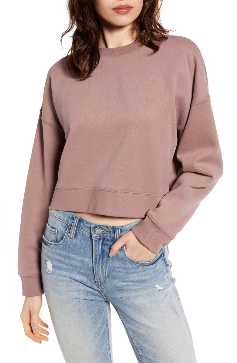 BDG URBAN OUTFITTERS Slouchy Sweatshirt, Main, color, 650