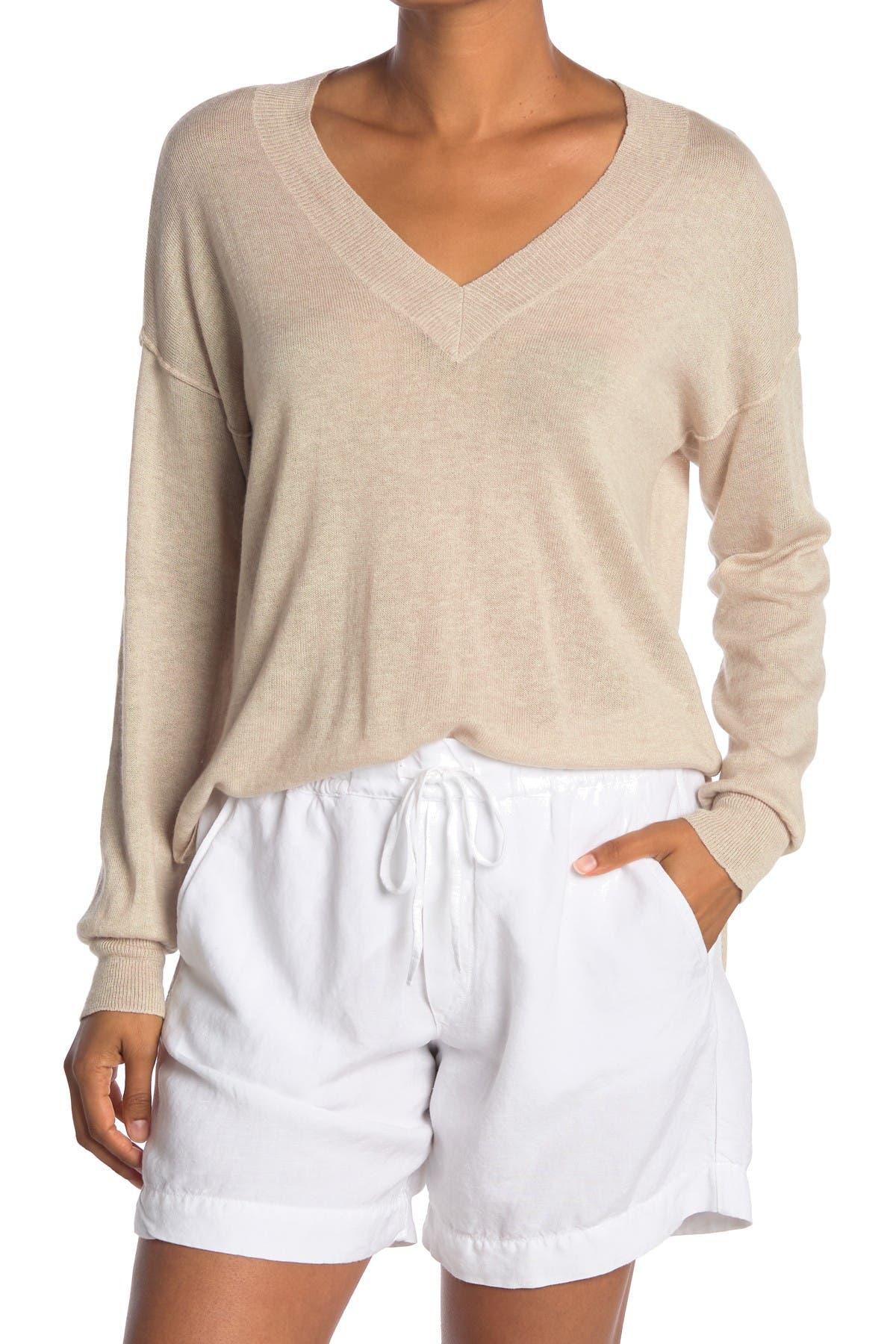 Image of NSF CLOTHING Keva Tissue V-Neck Sweater