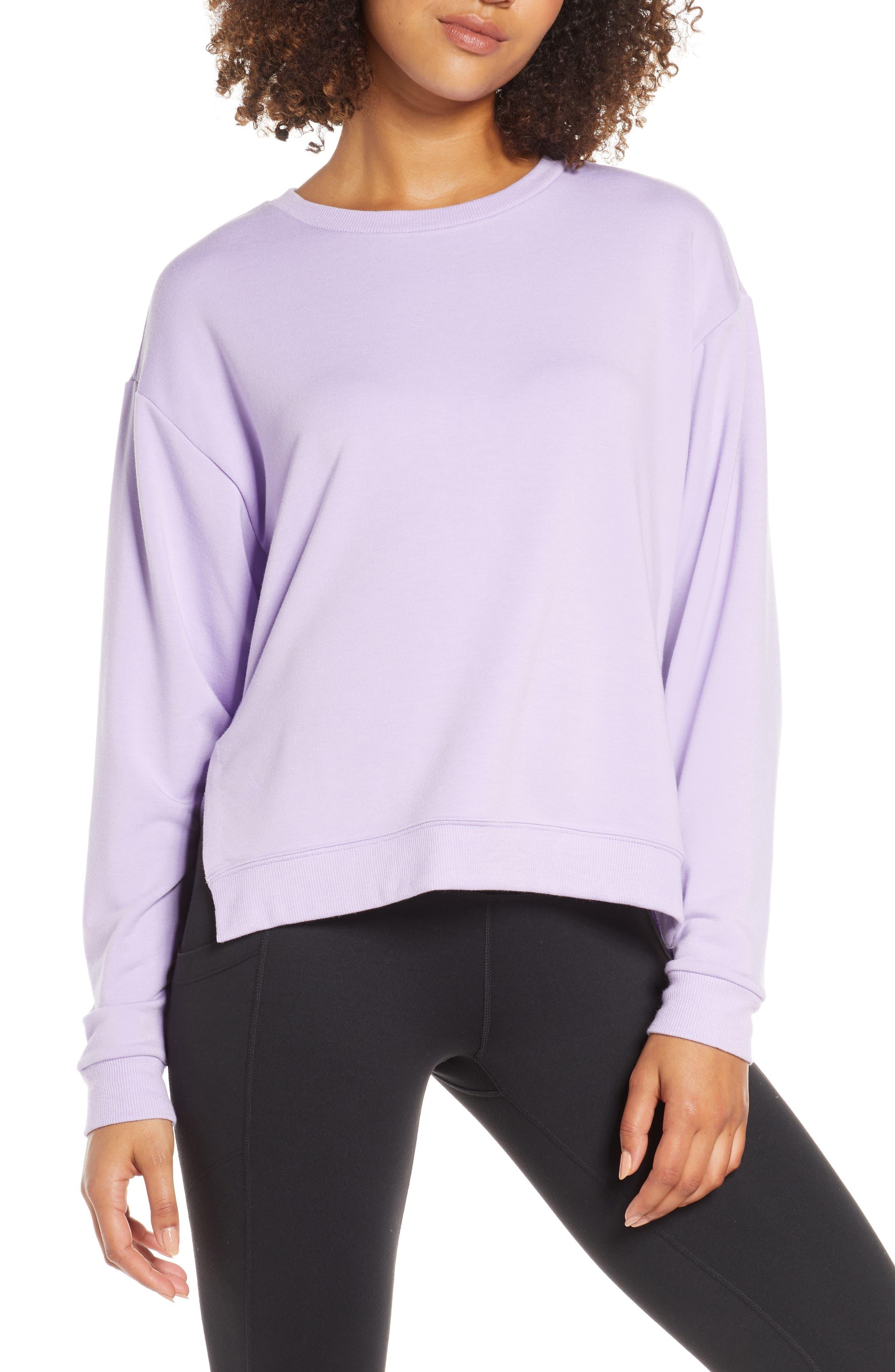 Zella Split Hem Sweatshirt