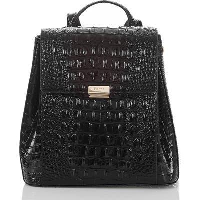 Brahmin Margo Croc Embossed Leather Backpack -