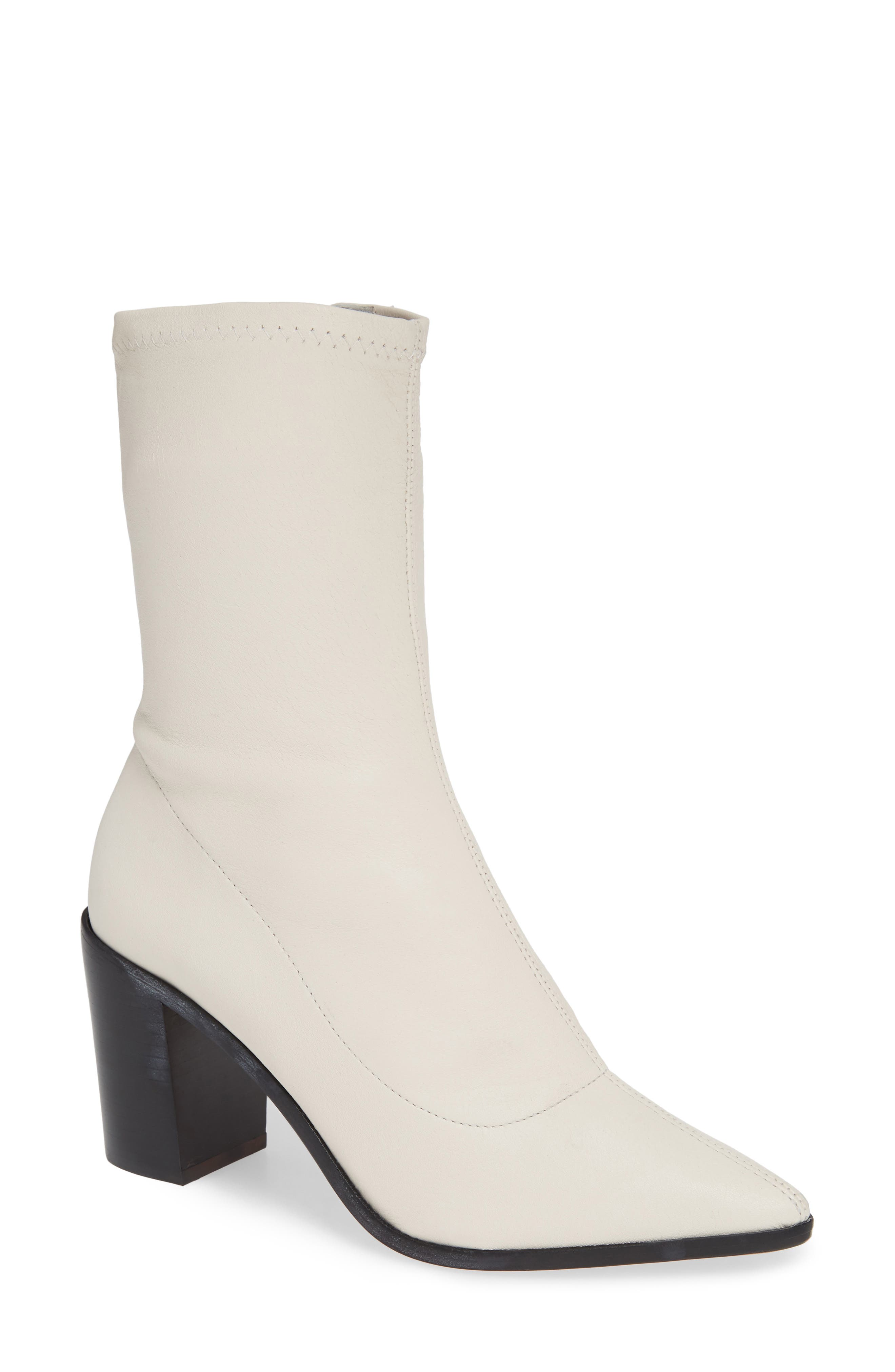 ,                             Amellie Pointy Toe Bootie,                             Main thumbnail 7, color,                             100