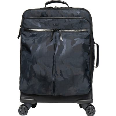 Knomo London Farringdon Porto Wheeled Carry-On - Black
