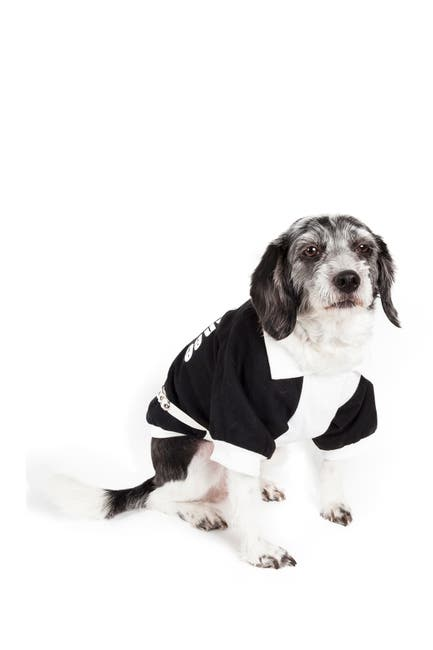 Image of PETKIT Varsity-Buckled Collared Pet Coat - X-Small
