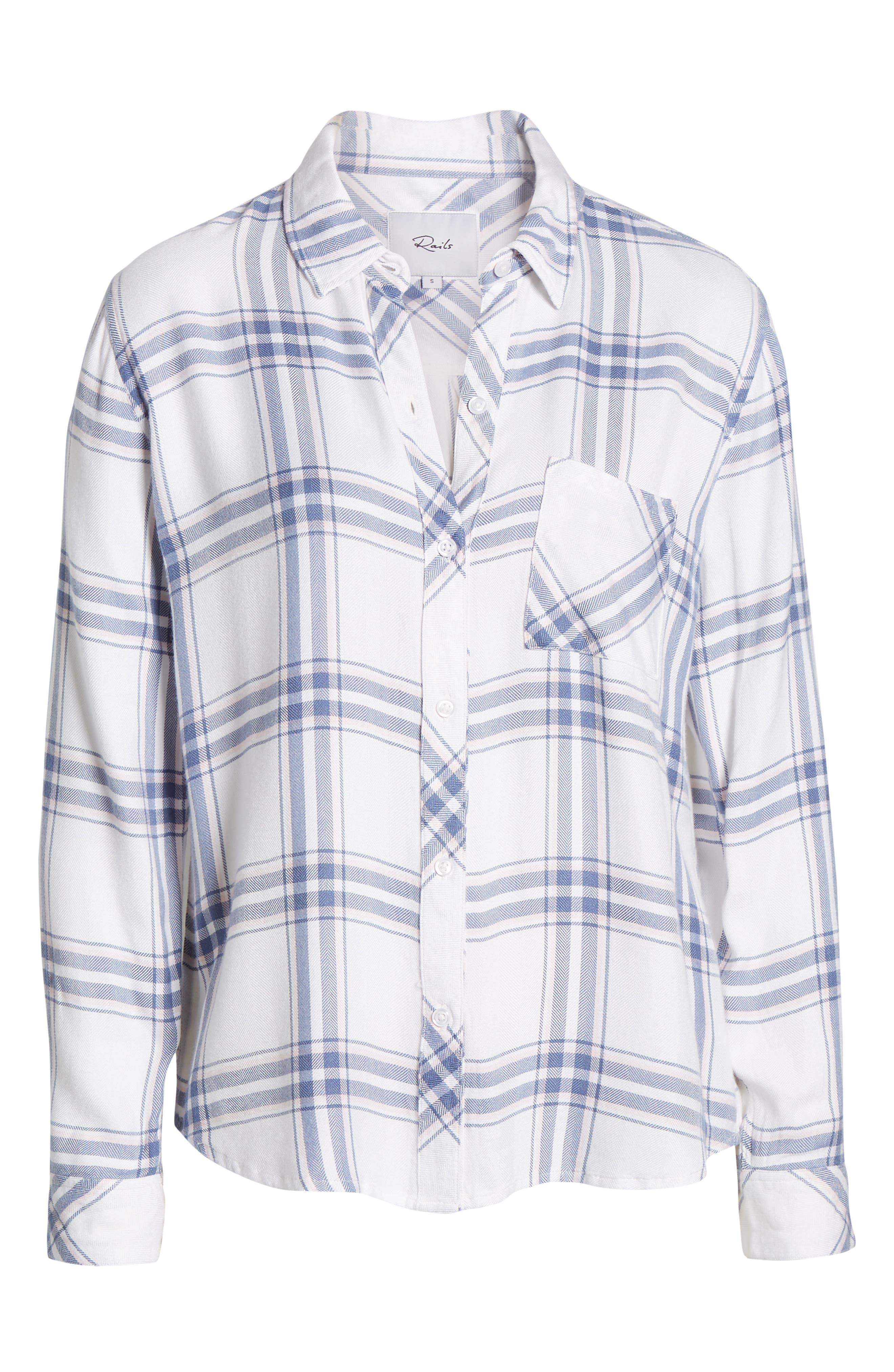 ,                             Hunter Plaid Shirt,                             Alternate thumbnail 153, color,                             480
