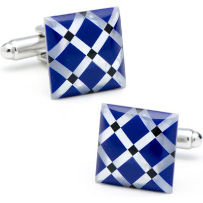 Cufflinks, Inc. Mother-Of-Pearl & Onyx Cuff Links