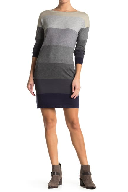 Image of Love Stitch Colorblock Sweater Dress