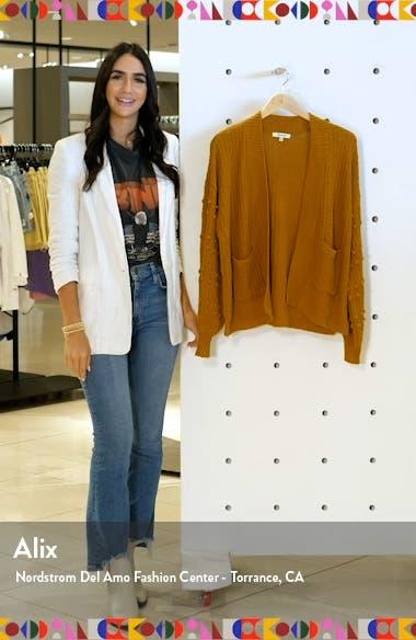 Bobble Cardigan Sweater, sales video thumbnail
