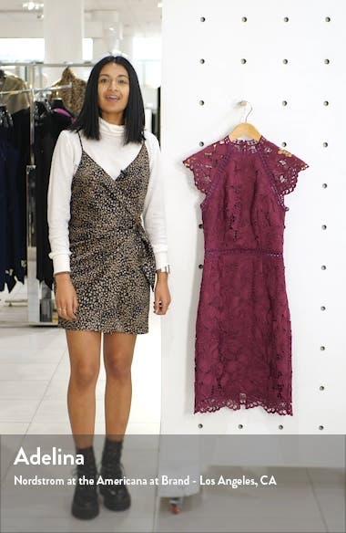 Eleya Lace Cocktail Dress, sales video thumbnail