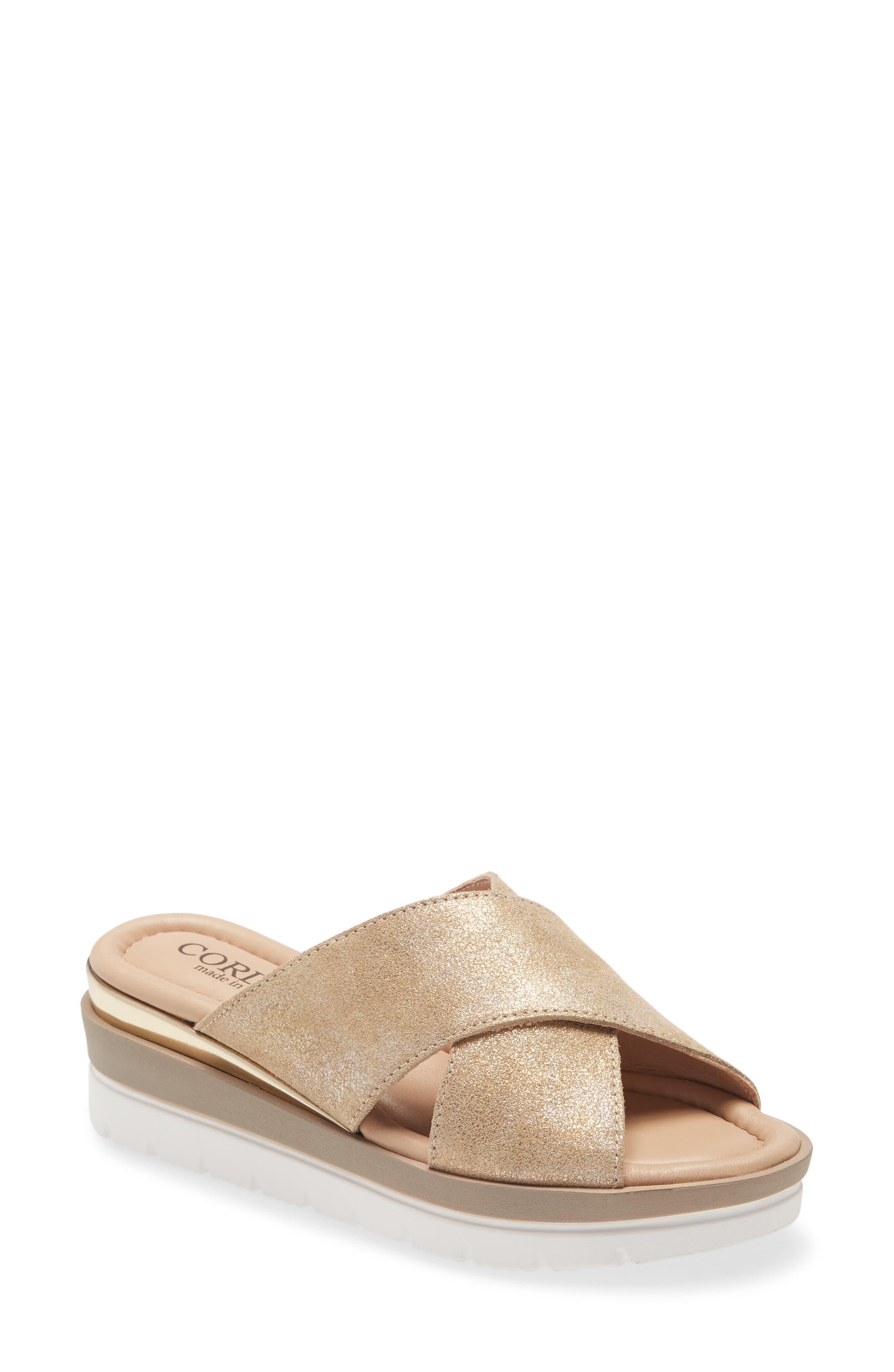 Aramis Wedge Slide Sandal