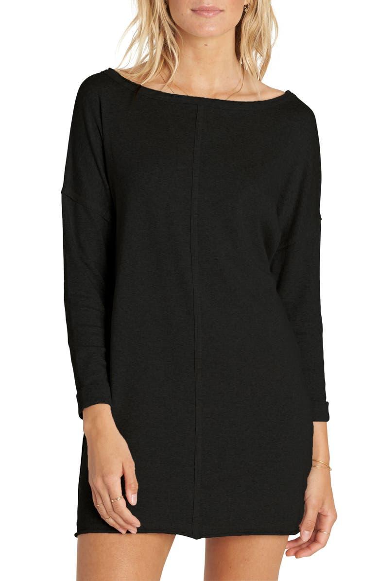 BILLABONG Only One T-Shirt Dress, Main, color, 001