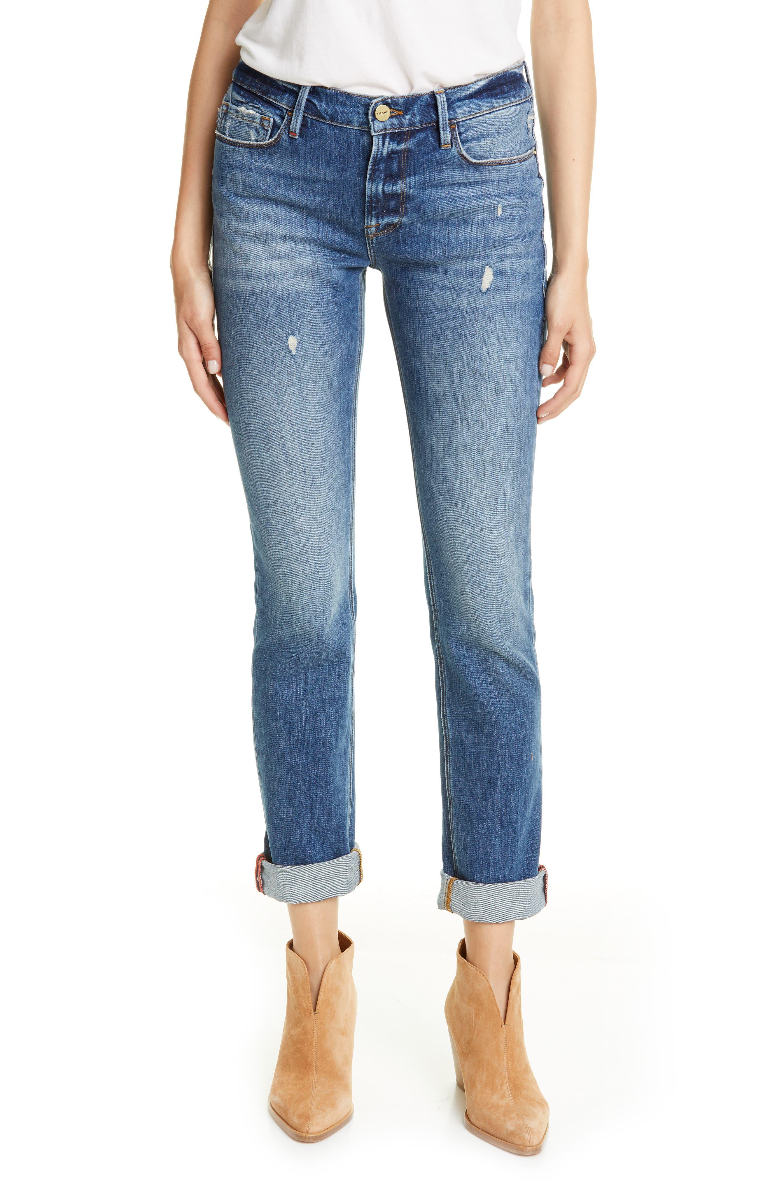 Frame Jeans Le Nik Straight Leg Jeans