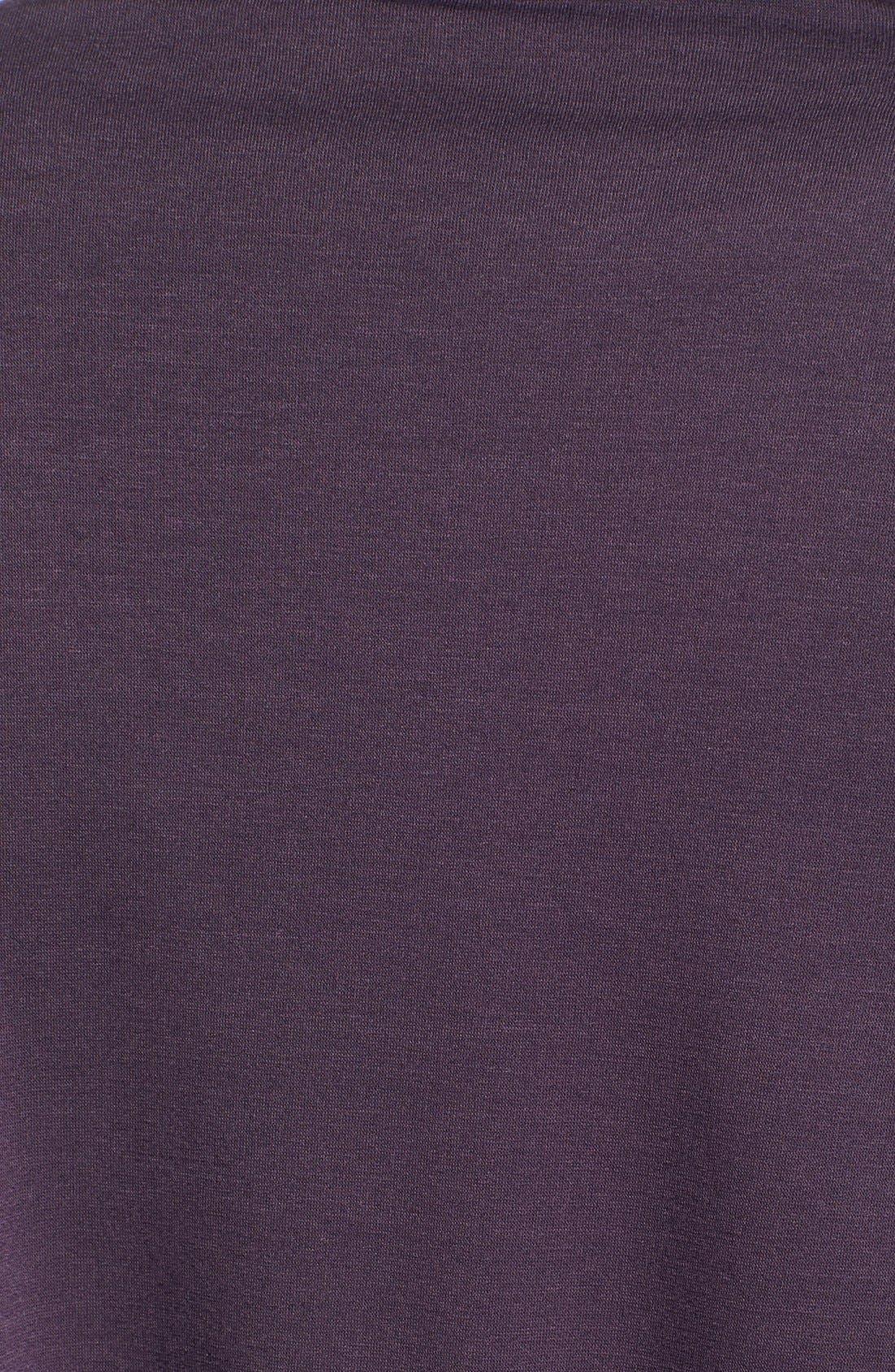 ,                             One-Button Fleece Wrap Cardigan,                             Alternate thumbnail 183, color,                             597