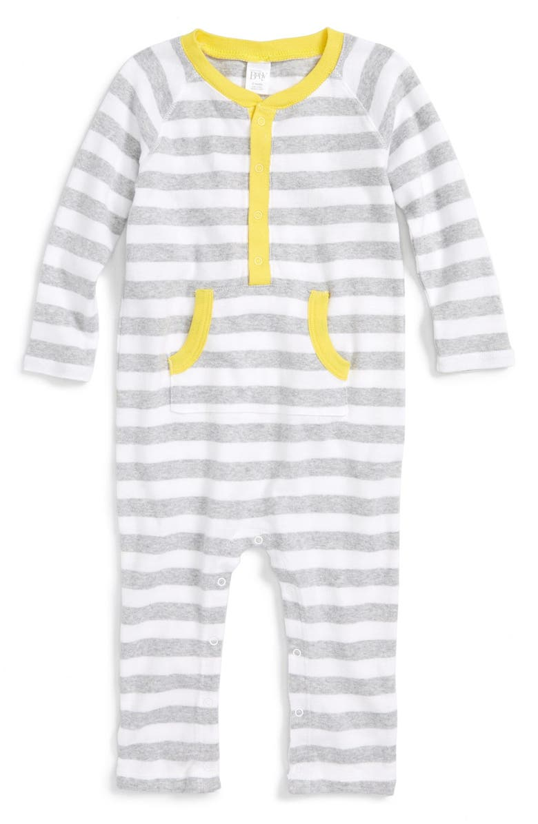 NORDSTROM BABY Stripe Romper, Main, color, 050