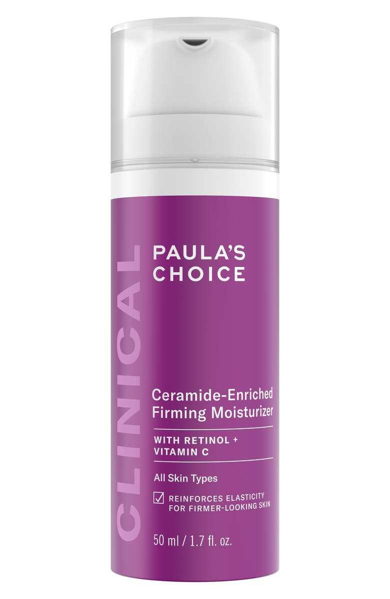 PAULA'S CHOICE Clinical Ceramide-Enriched Firming Moisturizer, Main, color, NO COLOR