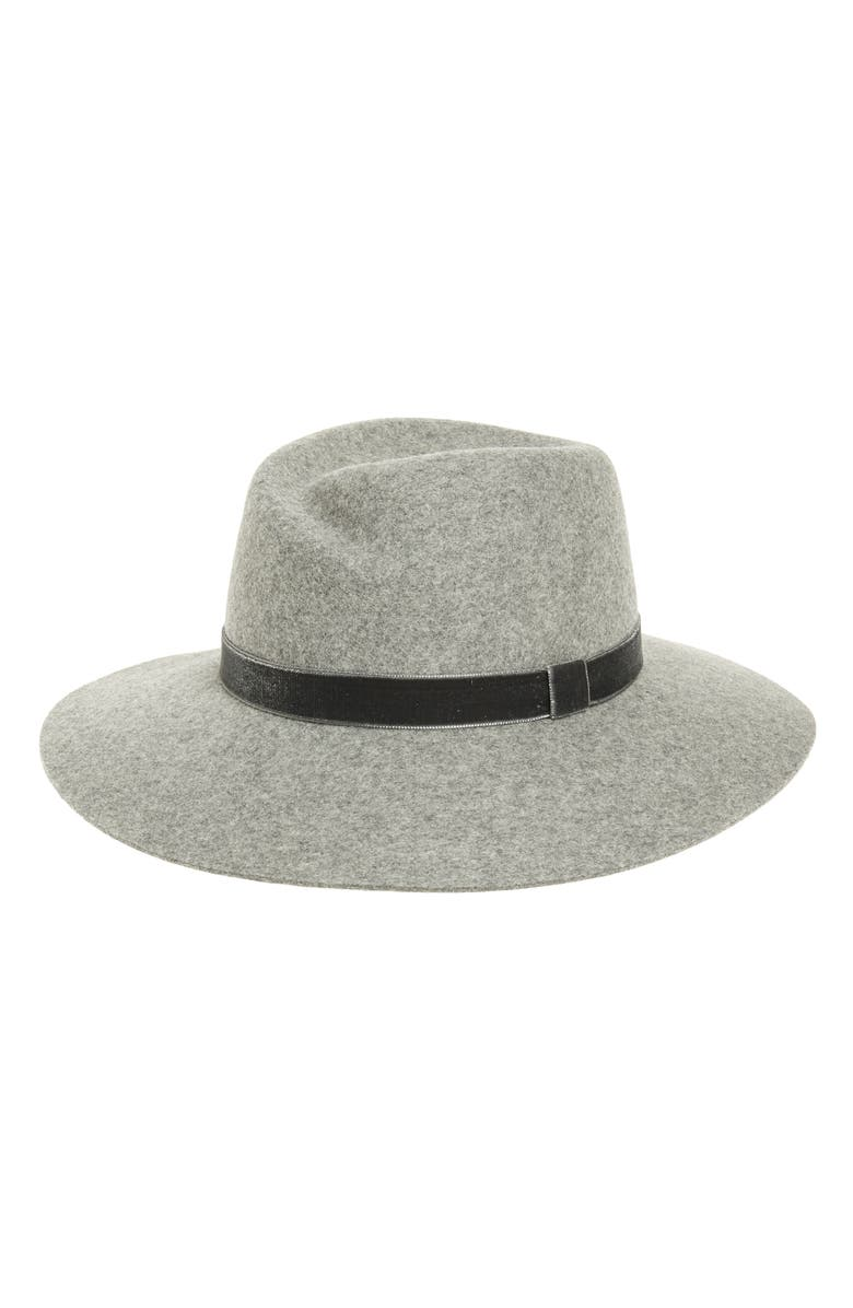 RAG & BONE Zoe Wool Fedora, Main, color, 020