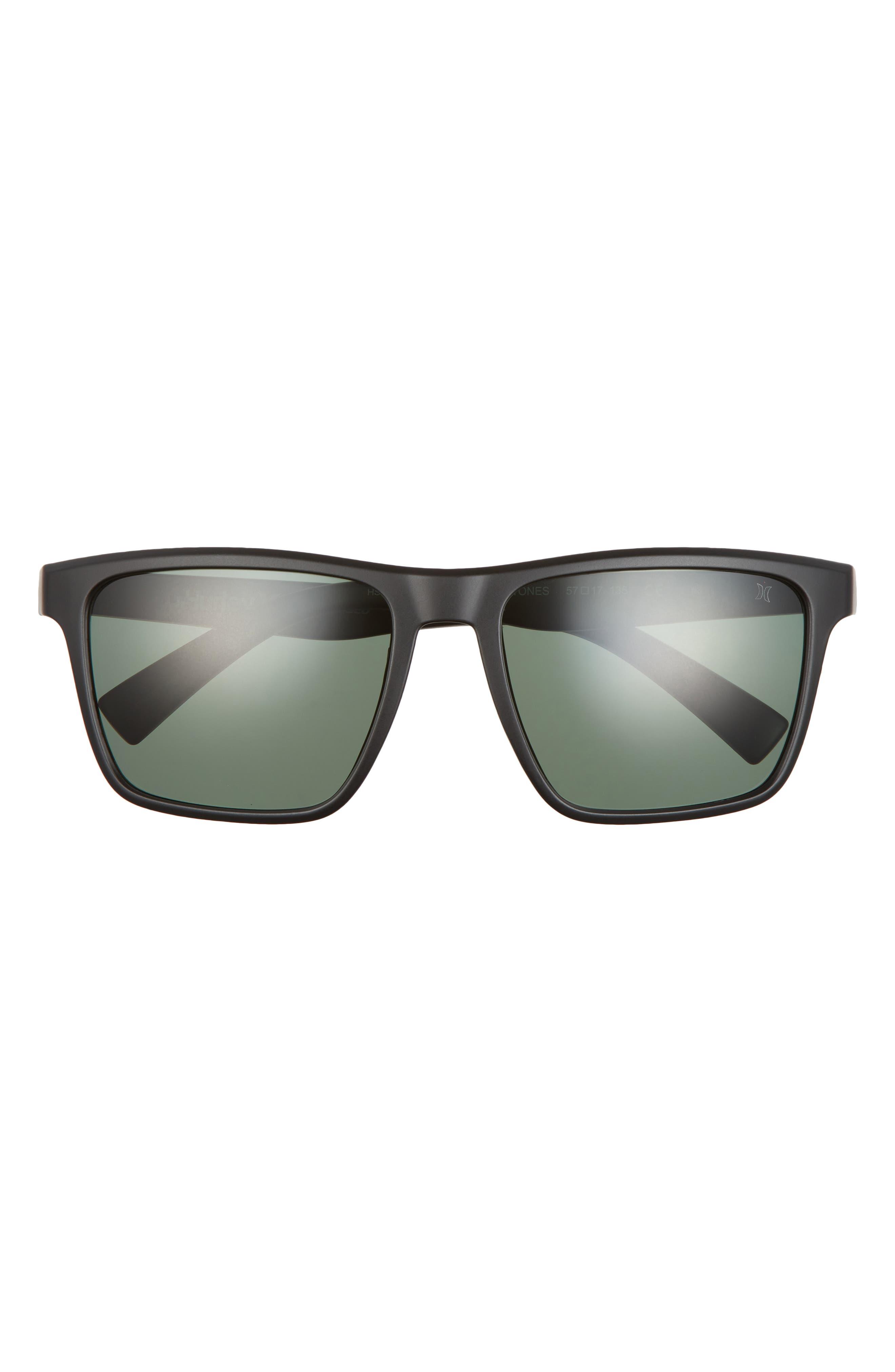 Cobblestones 57mm Polarized Square Sunglasses