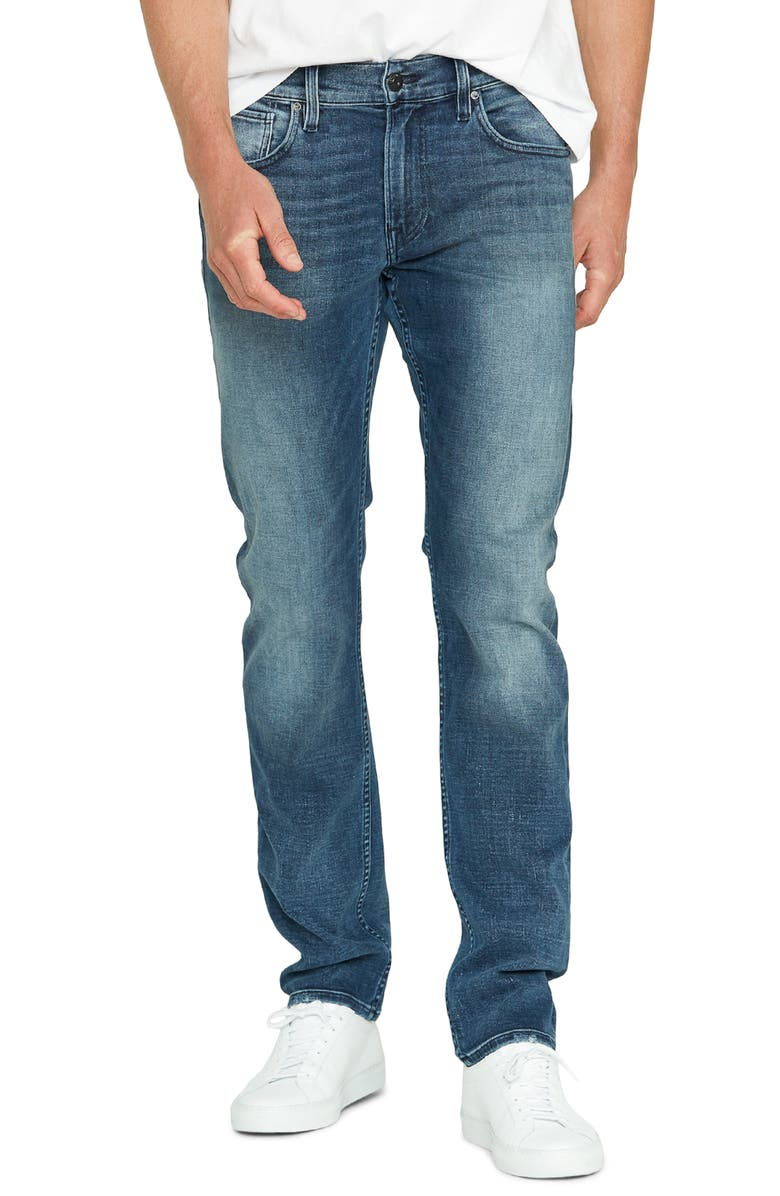 HUDSON JEANS Blake Slim Fit Jeans, Main, color, ADORNOS