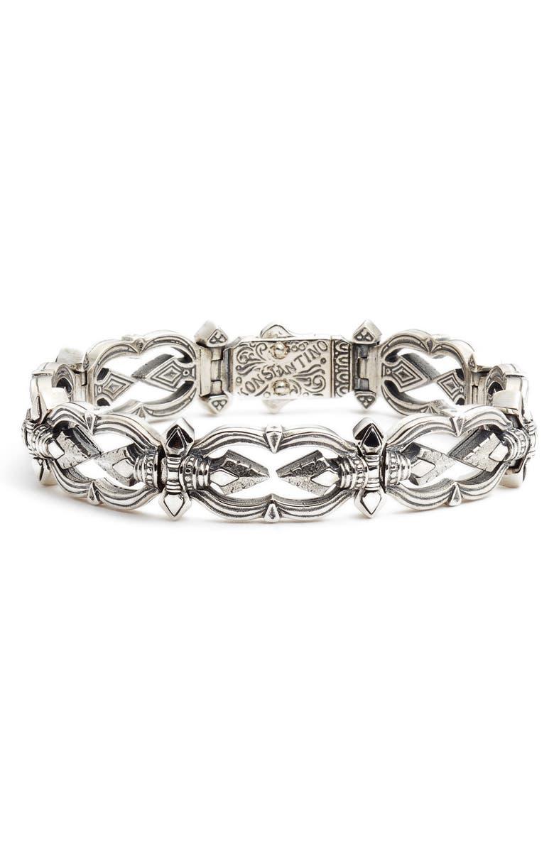 KONSTANTINO Heonos Men's Bracelet, Main, color, 040