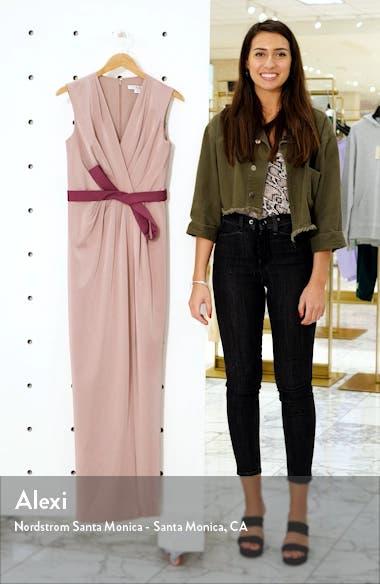 Contessa Stretch Faille Column Gown, sales video thumbnail