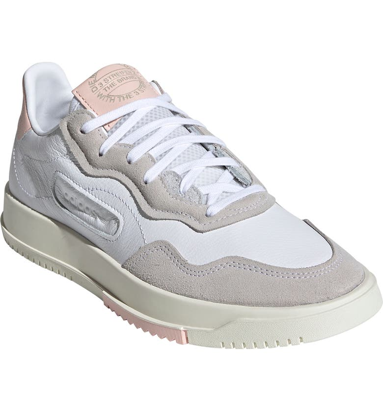 ADIDAS SC Premiere Sneaker, Main, color, WHITE/ WHITE/ ICEY PINK