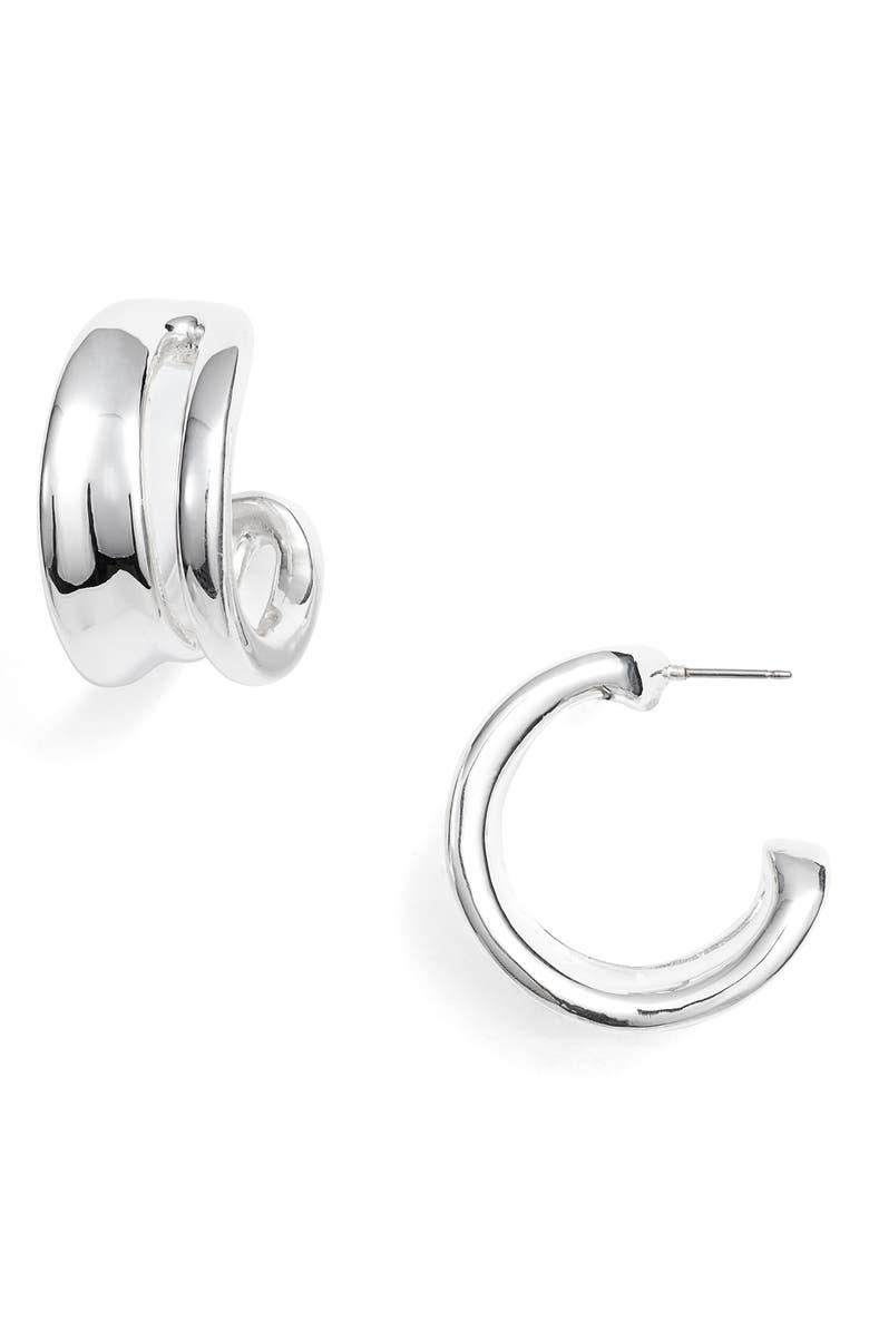SIMON SEBBAG Open Hoop Earrings, Main, color, 040