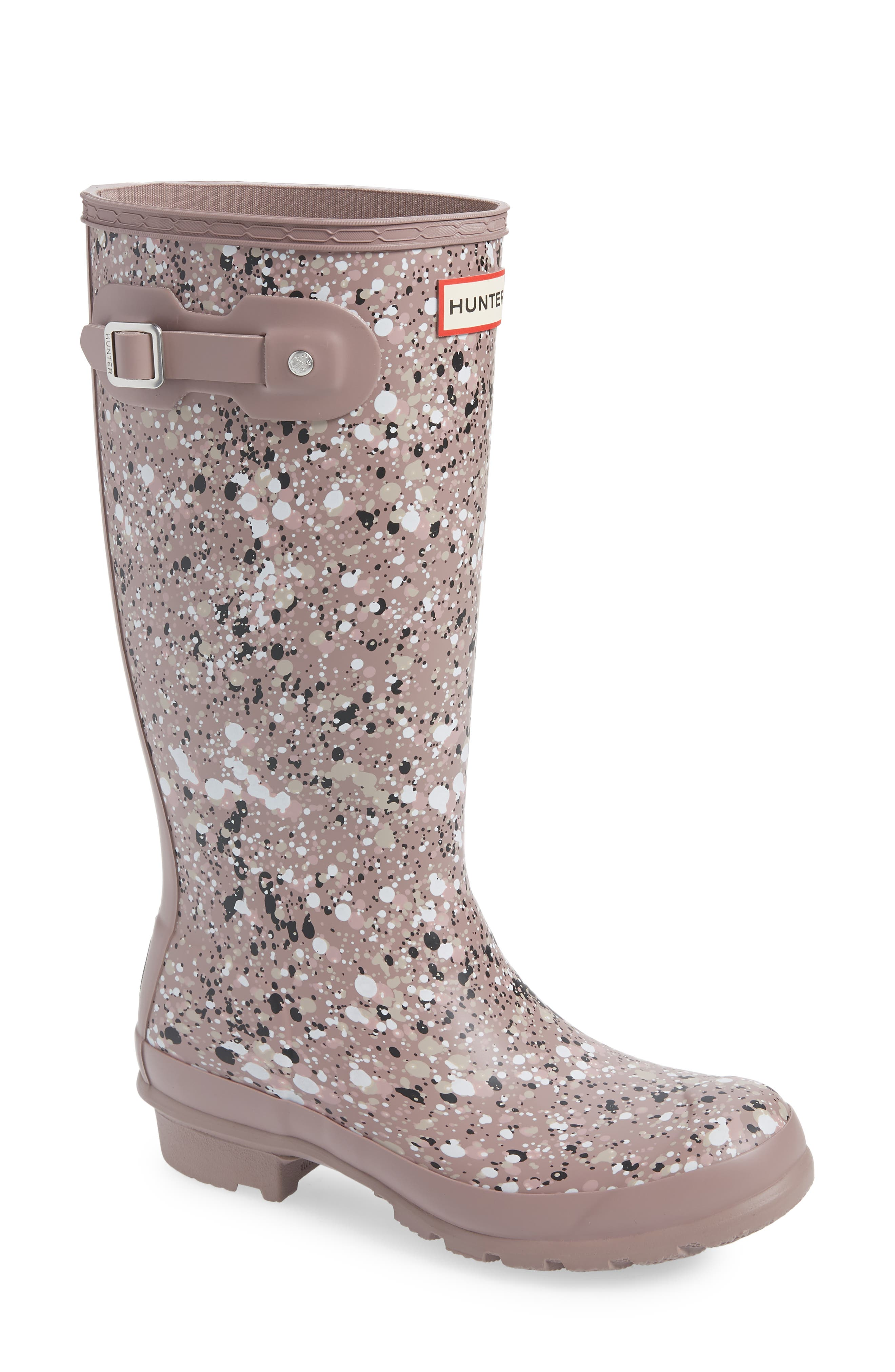 Image of Hunter Particle Print Rain Boots