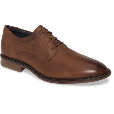 Josef Seibel Earl Plain Toe Derby, Brown