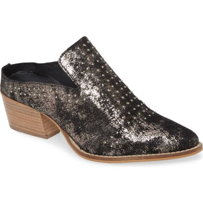Very Volatile Russo Studded Mule, Grey