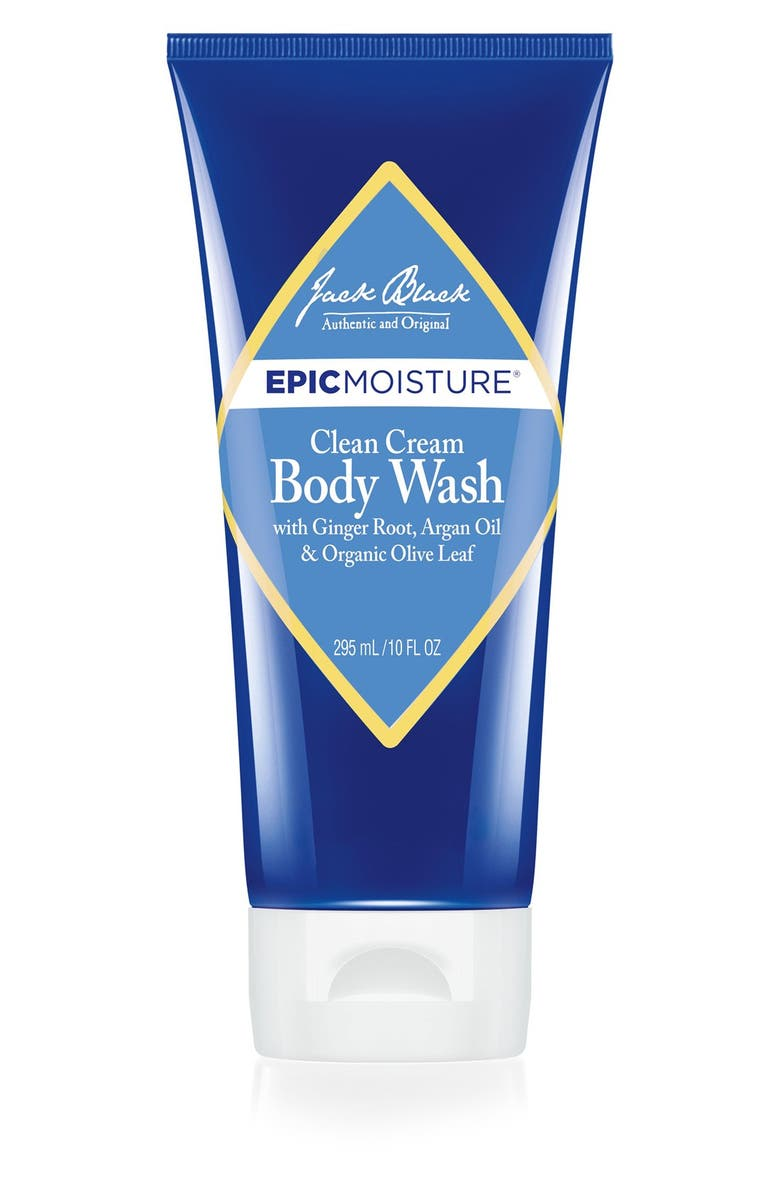 JACK BLACK Epic Moisture<sup>™</sup> Clean Cream Body Wash, Main, color, NO COLOR