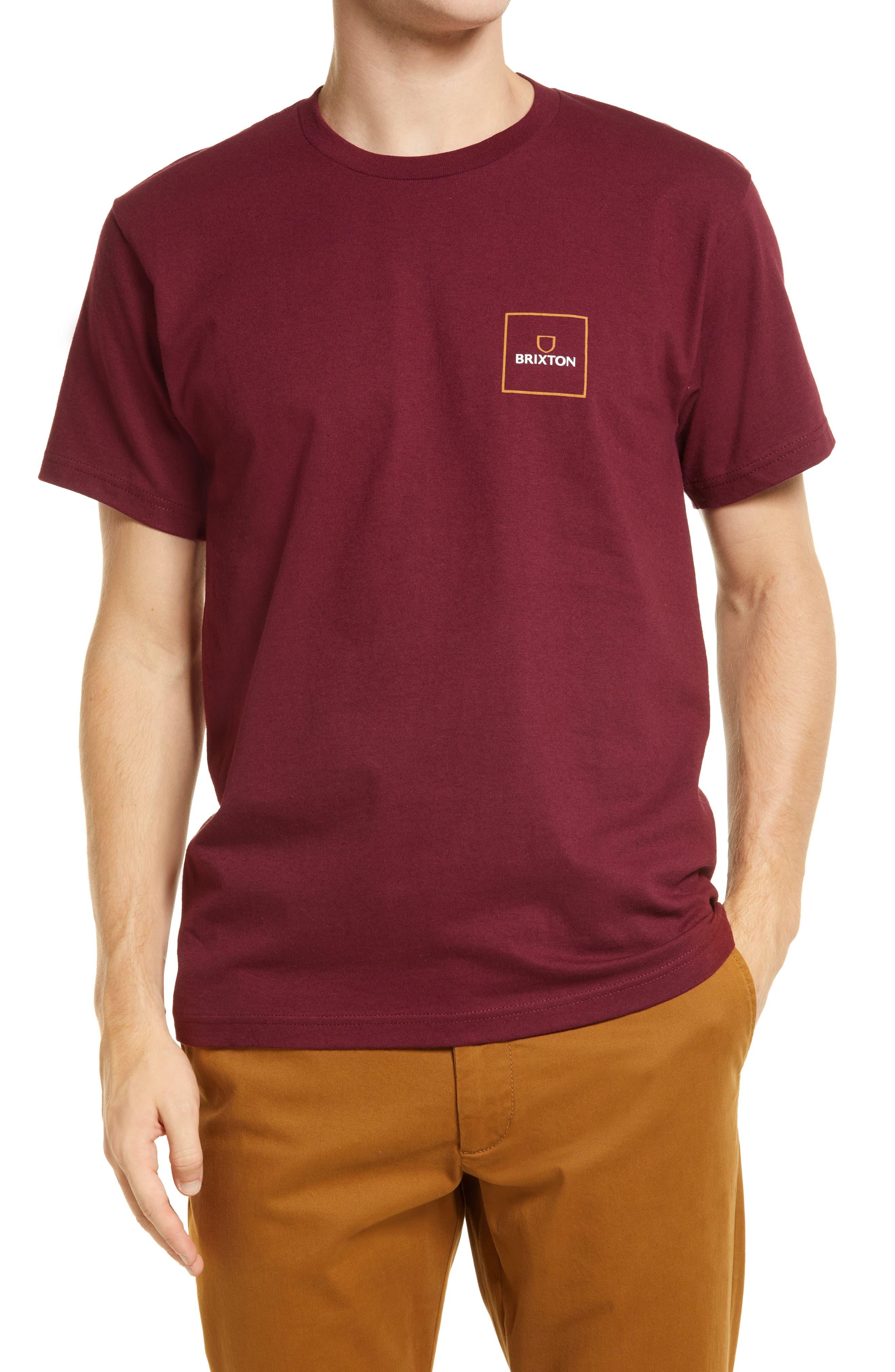 Men's Alpha Block Cotton T-Shirt