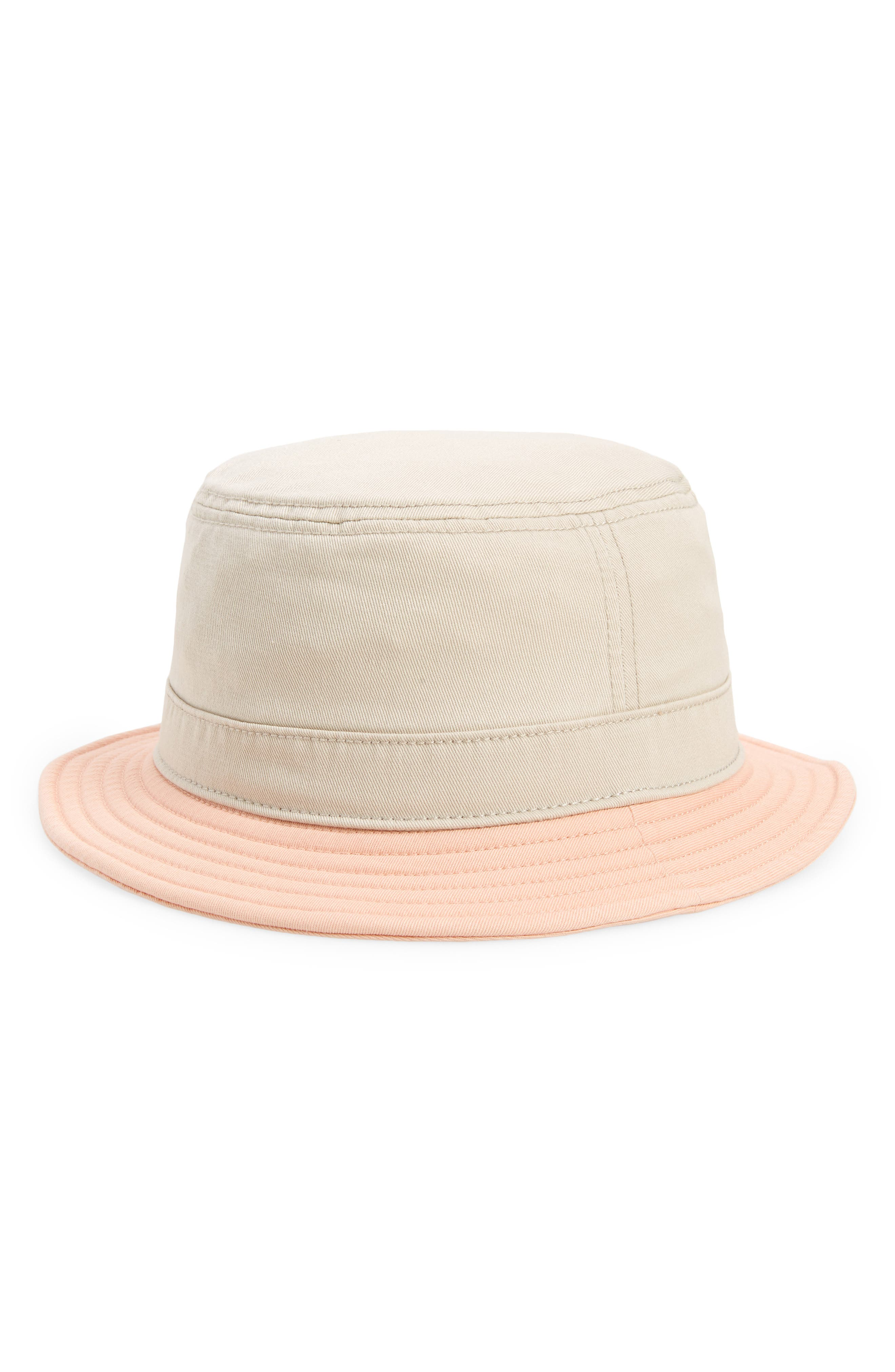 . Fazed Two-Tone Canvas Bucket Hat