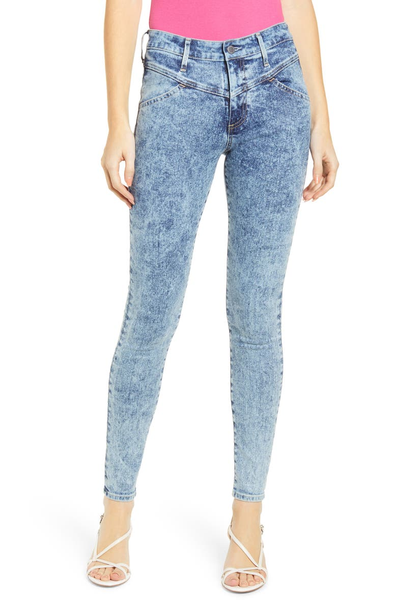 AG The Farrah High Waist Skinny Jeans, Main, color, 481