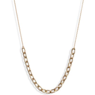 Zoe Chicco Oval Link Station Necklace