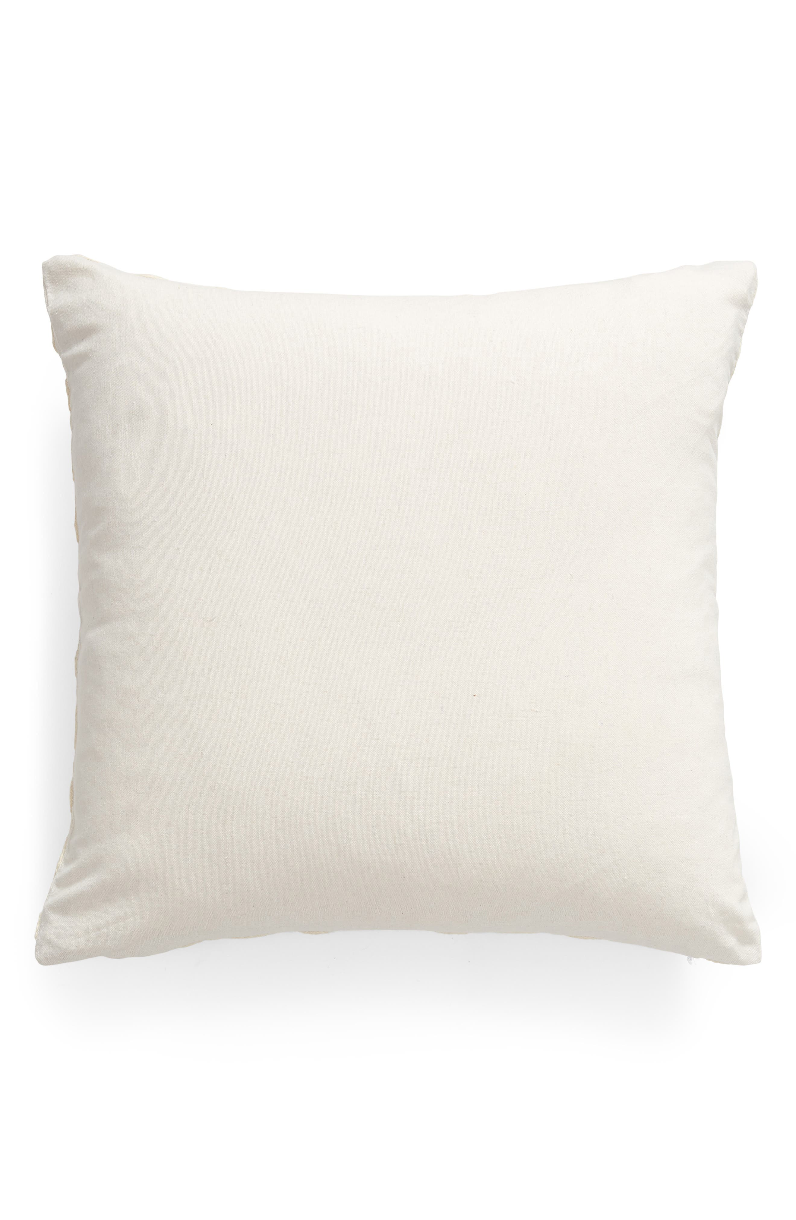 ,                             Rose Garden Embroidered Accent Pillow,                             Alternate thumbnail 2, color,                             NATURAL
