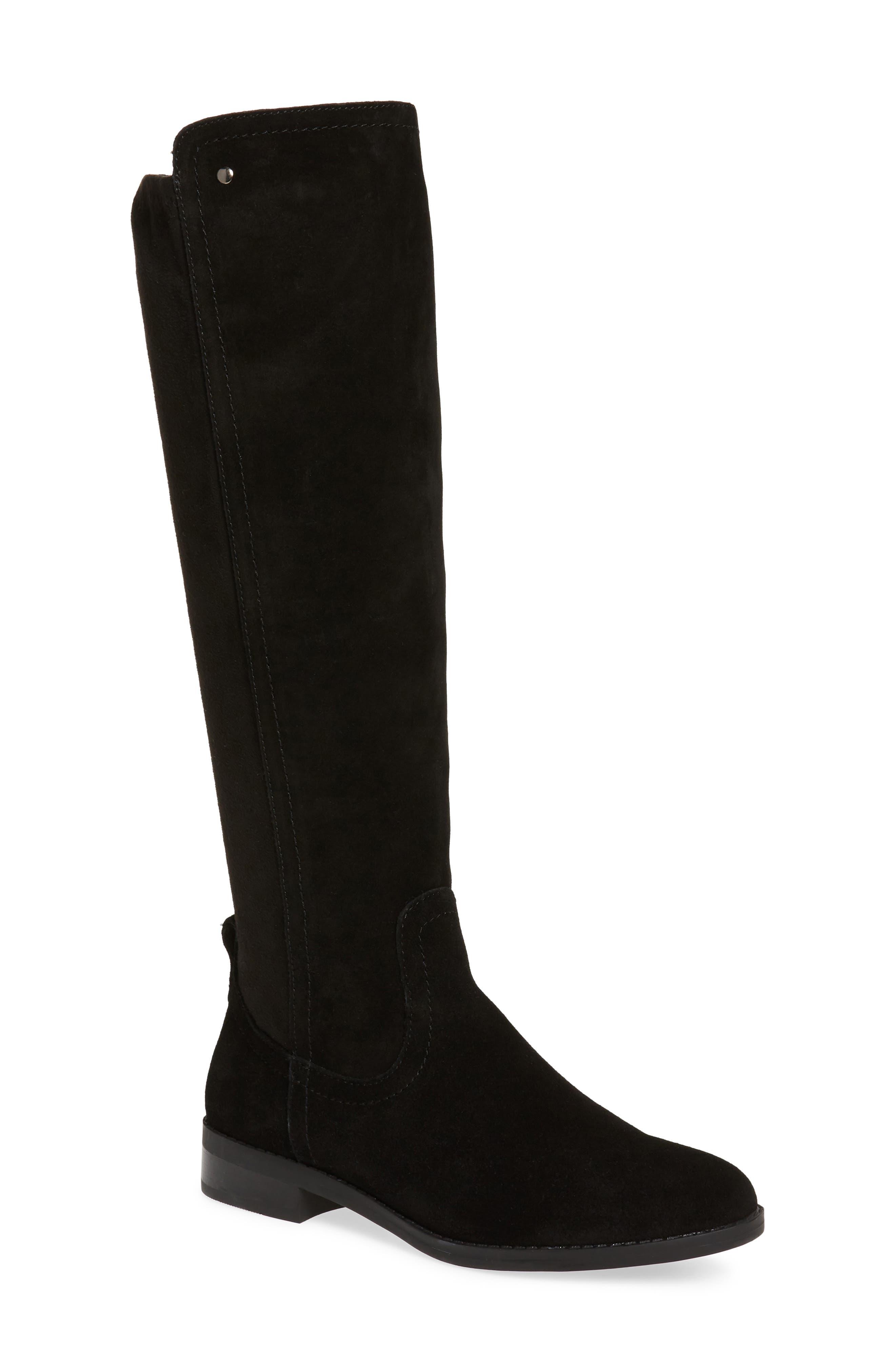 Very Volatile Anchor Knee High Boot, Black