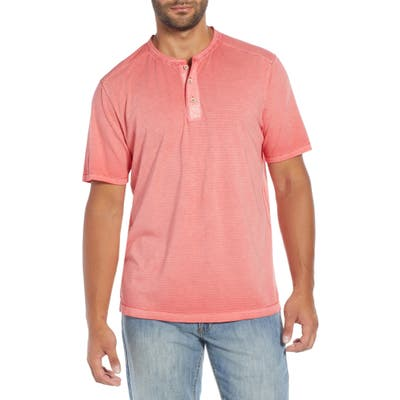 Tommy Bahama Cirrus Coast Classic Fit Henley, Pink