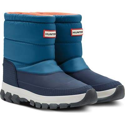 Hunter Original Waterproof Insulated Short Snow Boot, Blue