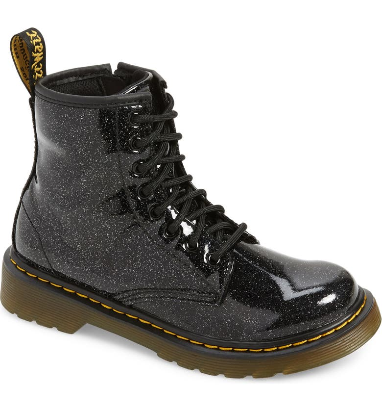 DR. MARTENS 1460 Glitter Boot, Main, color, 001