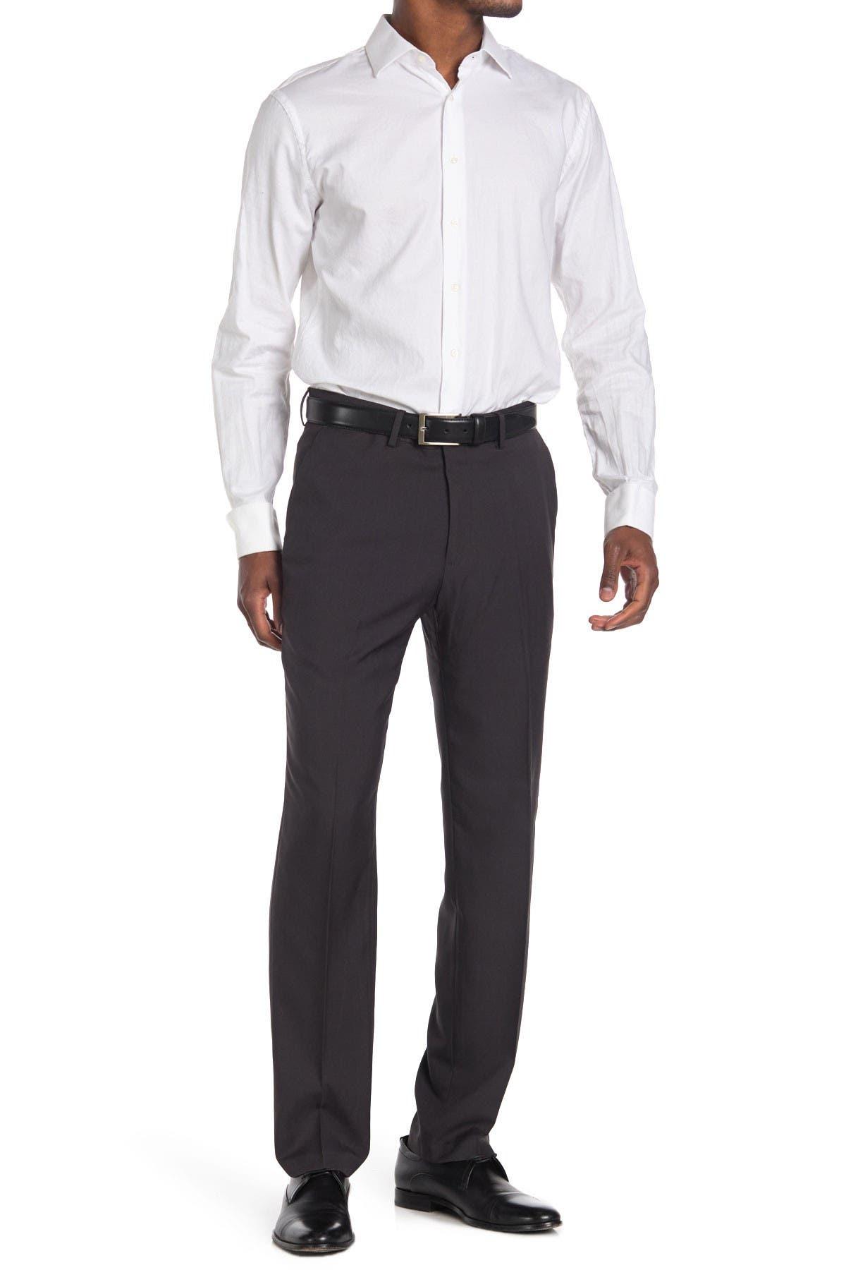 Image of HAGGAR Comfort Stretch Straight Cut Pants