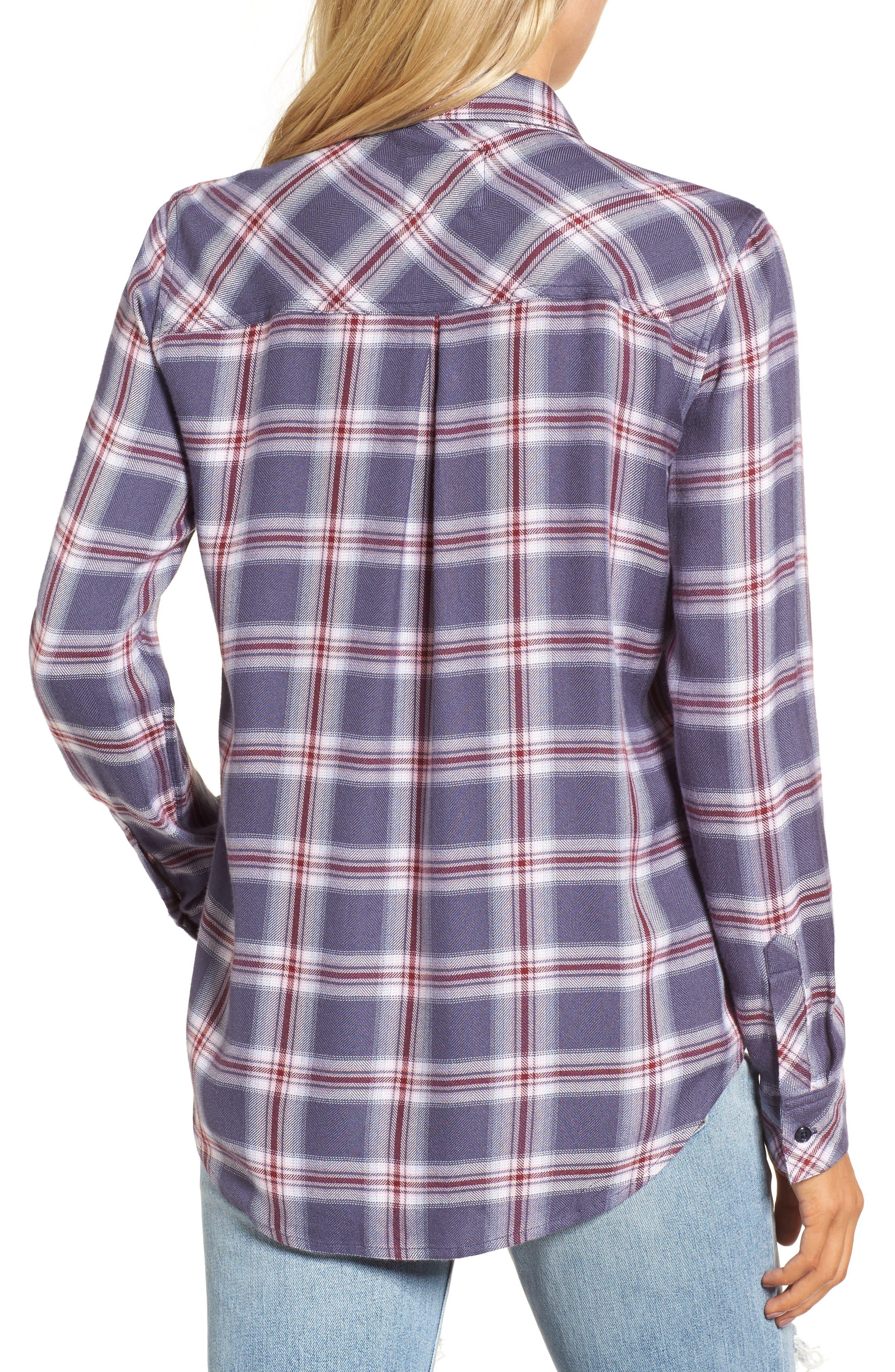 ,                             Hunter Plaid Shirt,                             Alternate thumbnail 778, color,                             410