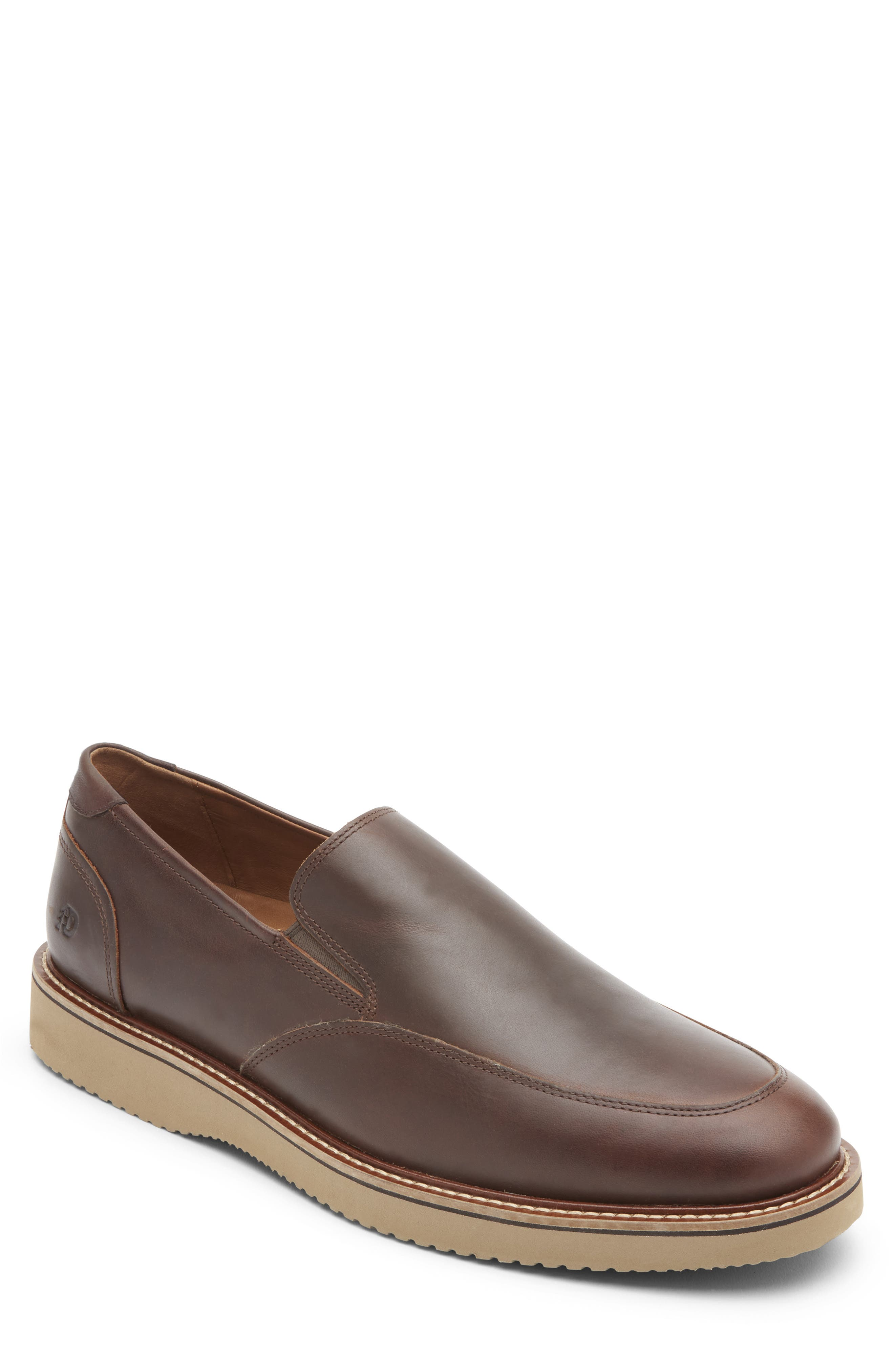 Clyde Leather Venetian Loafer