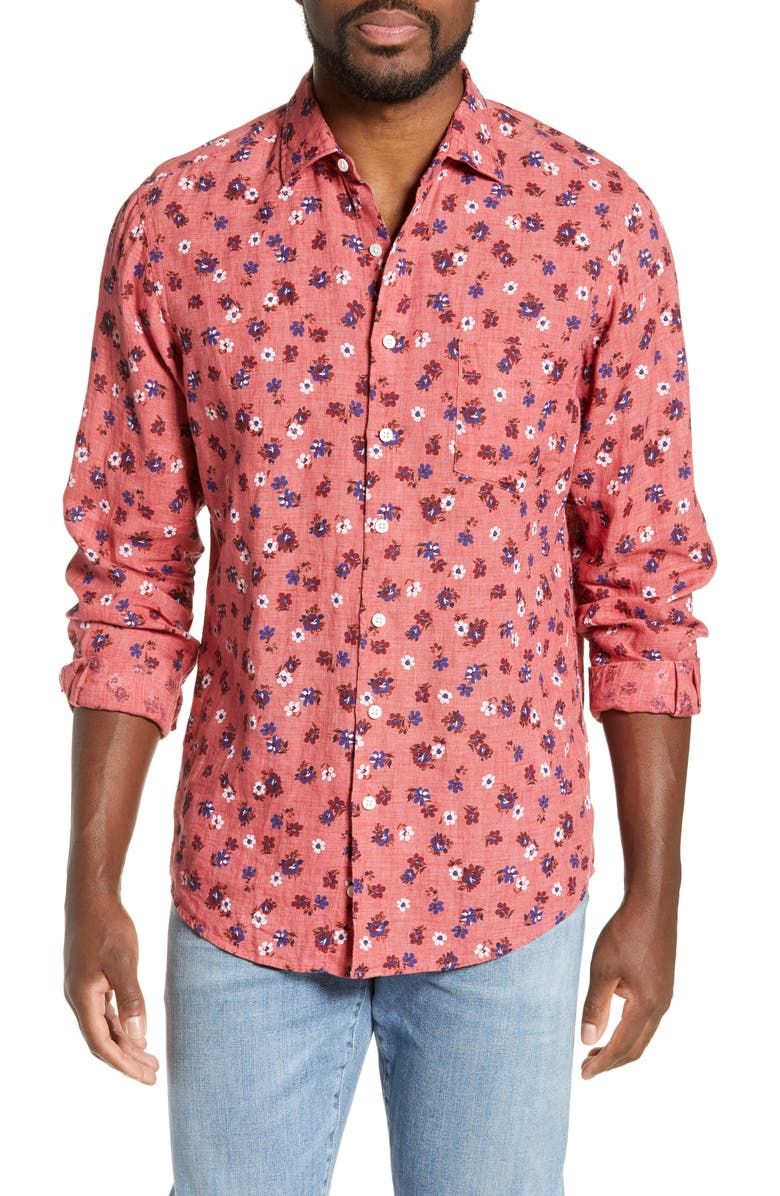 RODD & GUNN Islington Bay Regular Fit Sport Shirt, Main, color, 651